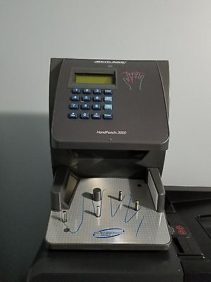 Schlage Ingersoll Rand, RSI Biometric Hand Punch 3000E Time Clock Novatime