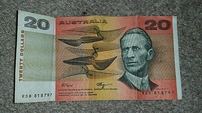 World Note Collector Australia 20 Dollar Bank Note