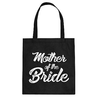 Tote Mother of the Bride Cotton Canvas Tote Bag #3301