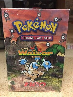 Pokemon Neo Discovery Wallop Theme Deck For Card Game Hitmontop CCG TCG