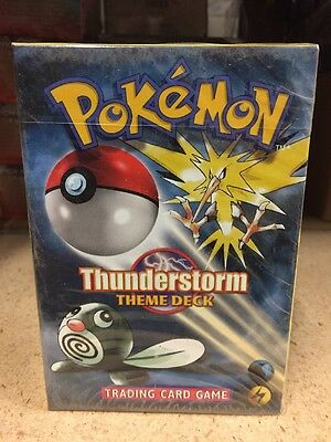 Pokemon Thunderstorm Zapdos Theme Deck For Card Game TCG CCG