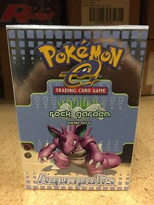 Pokemon Aquapolis Rock Garden Theme Deck Nidoking TCG