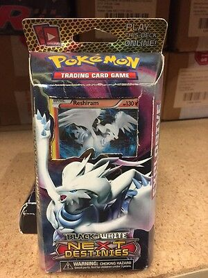 Pokemon Next Destinies Explosive Edge Theme Deck Reshiram TCG