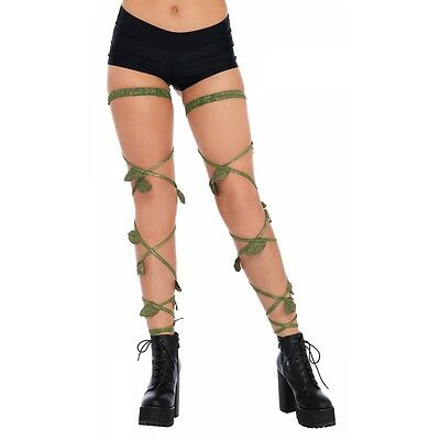Ivy Leg Wraps for Adult Poison Ivy Halloween Costume Fancy Dress