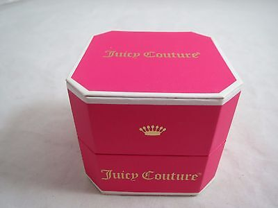 Juicy Couture pink small jewelry gift box