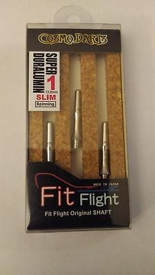COSMO FIT SUPER DURALUMIN SLIM SPINNING #1 SHAFTS 13mm  FOR FIT FLIGHTS ONLY