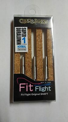 COSMO FIT SUPER DURALUMIN NORMAL SPINNING #1 SHAFTS 13mm  FOR FIT FLIGHTS ONLY