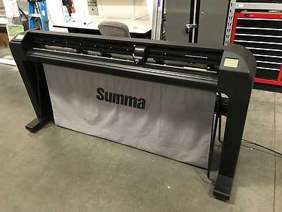 "Summa S160 T Series 64"" Plotter Cutter OPOS Sensor Tangential Large Wide Format"