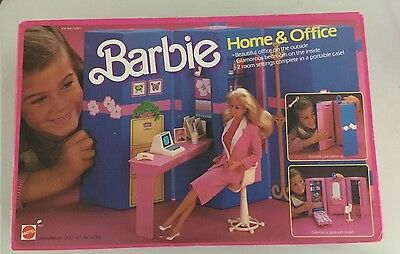 Barbie  HOME & OFFICE ref.7897 + BARBIE DAY TO NIGHT   NRFB 1984