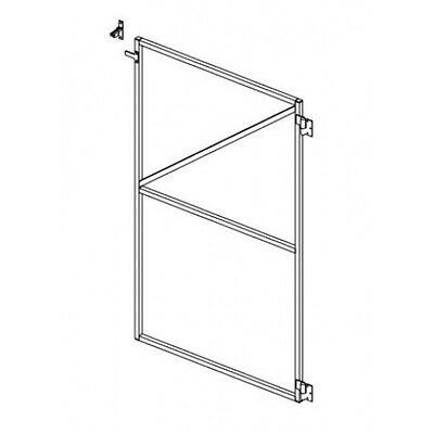B 1200 Paling Type Gate Frame R-H Single