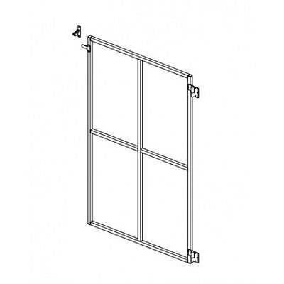 B 1800 High Decking Gate RH Single