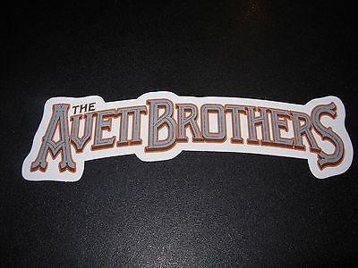 "AVETT BROTHERS Bros Decal 6"" Sticker SCRIPT tour cd lp album art"