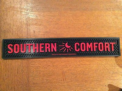 Southern Comfort Rubber Bar Drink Spill Mat Red & Black