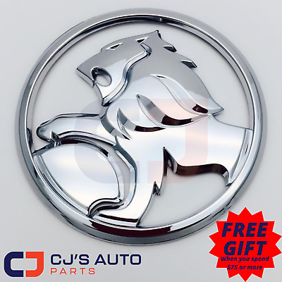 Chrome 85mm Lion Badge to Suit Commodore VY S pac SS Front Grille