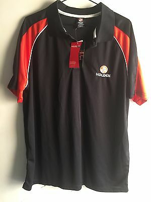 Mens Black Holden Polo Shirt Size Large - Brand New with Tags