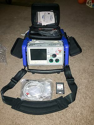 Zoll E Series Monitor Biphasic 12 Lead ECG SpO2 Pacing aed ETCO2