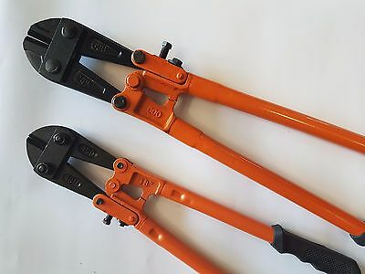 """18"""" 24"""" Heavy Duty Bolt Cable Cutters Croppers Chain (600mm 24"""" 450mm 18"""") Orang"""