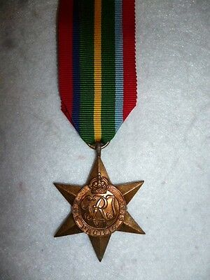 Original WW2 The Pacific Star Medal Full Size