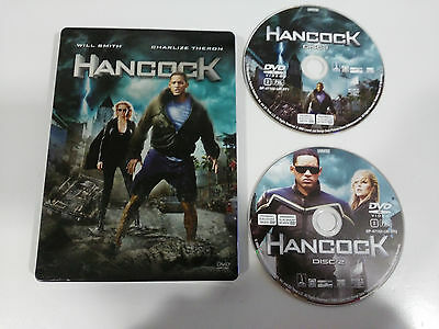 Hancock - 2 X Dvd Steelbook Will Smith Charlize Theron Español English