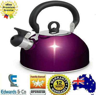 Camping Whistling Kettle 2.5L Kettle Stainless Steel Fast Boiling Water Boiler