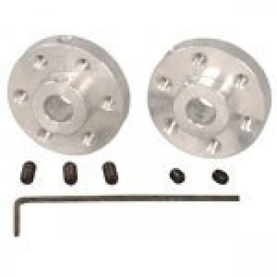 Pololu 1083 UNIVERSAL ALUMINUM MOUNTING HUB FOR 6mm SHAFT PAIR, 4-40 HOLES