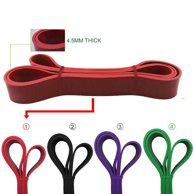 2080MMFitness Resistance Band Latex Yoga Elastic Strap Stretch Exercise Gym Tube