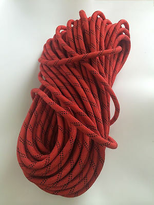 AU STOCK  50m x 12mm Static Climbing Rope, Abseiling Rope, Rescue Rope climbing