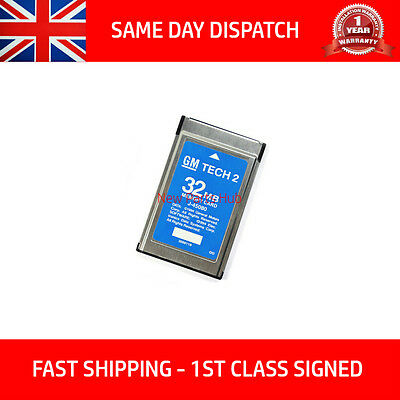 Saab 148.000 Gm Tech2 Tech 2 32Mb Memory Cards Card Diagnostic Scanner Tis