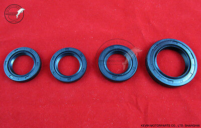 All Oil Seal Set Gy6 125 150 Scooter moped ATV 1P52QMI 1P57QMJ Taotao BMS Roketa