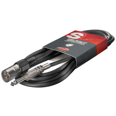 Stagg 6mm to XLR Cable - 6m