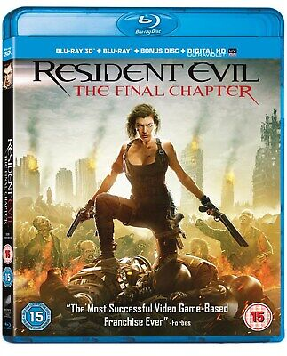 Resident Evil: The Final Chapter (3D Edition with 2D Edition + Digital Downloa