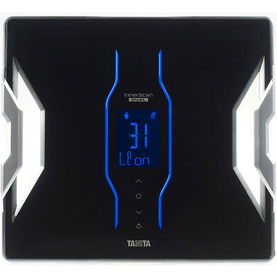 Tanita Bluetooth Connected Smart Scale with Body Composition Monitor - Black