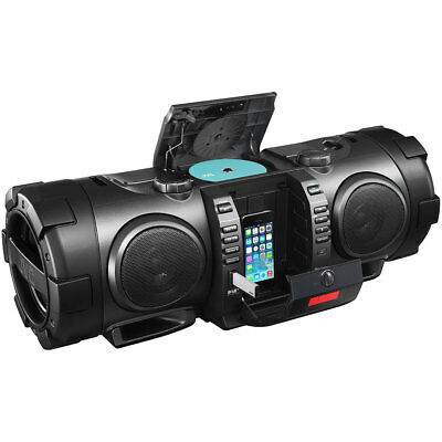 JVC Portable CD Boomblaster with Lightning Dock, Bluetooth & DAB RVNB100B