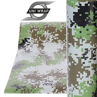 """Camouflage Camo Decals Stickers Wrap Vinyl - ALL SIZES - UV PRO """"Military Design"""