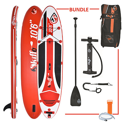 """INFLATABLE STAND UP PADDLE BOARD ISUP SKIFFO LUI 10ft 6"""""""