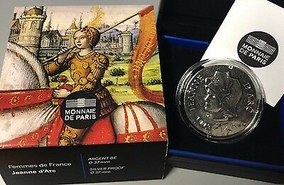 France 2016 Jeanne d' Arc 10 euros Silver Historical Femmes de France €