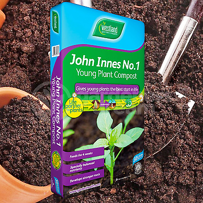 Westland John Innes No1 30L Compost Young New Plant Garden Soil Root Builder