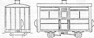 Single Comp.4 Wheel Coach (OO9 kit) - Parkside Dundas DM28 - F1