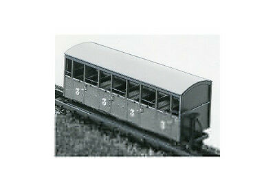 Festiniog Semi Open Bogie Coaches (OO9 kit) - Parkside Dundas DM22 - F1