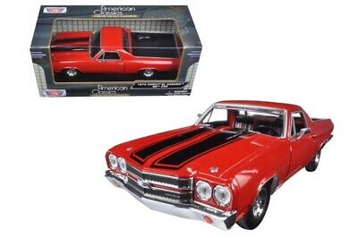 G 1:25 24 Scale 1970 Chevrolet El Camino 396 SS New Ray Model Car Pickup 79347