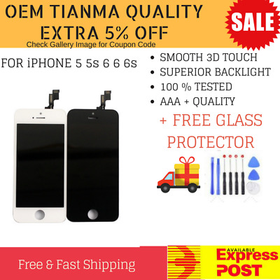 For iPhone 5/6/6S Plus LCD Display Touch Screen Replacement Digitizer Assembly