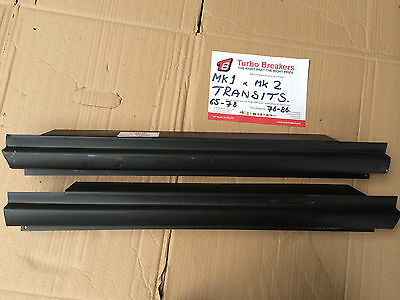 Transit MK1 Mk2 Outer Sill Panels with  Step 1 x PAIR fits Models 1965 to 1986