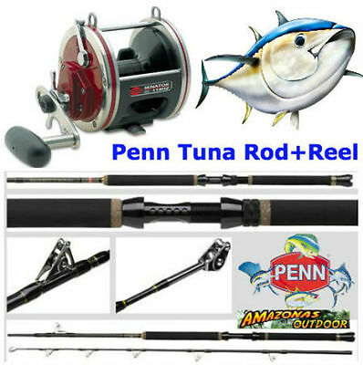 Penn Tuna Rod and Reel Combo