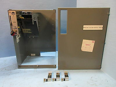 "Square D Model 5 200 Amp Breaker Type 24"" Motor Control MCC Feeder Bucket 200A"