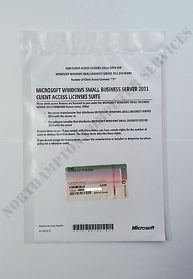MS Windows SBS Small Business Server 2011 5 CAL License OEM - DELL ROK 0JX7F8