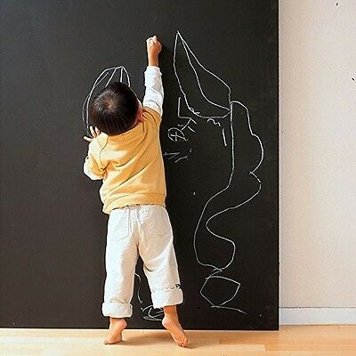 Peel & Stick Office Children Room Drawing Notice Blackboard Wall Sticker