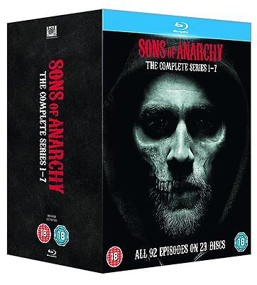 Sons of Anarchy - The Complete Series (Blu-ray) BRAND NEW! Seasons 1 2 3 4 5 6 7