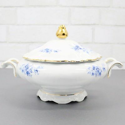 Vintage Covered Vegetable Dish by Mitterteich Bavaria - Covered Tureen