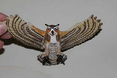 Great Horned Owl Figure 2008 Safari Collection