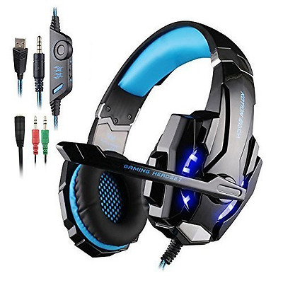 Cuffia Gaming per PS4 New Xbox One, AFUNTA G9000 Cuffie Gaming Headset Auricolar